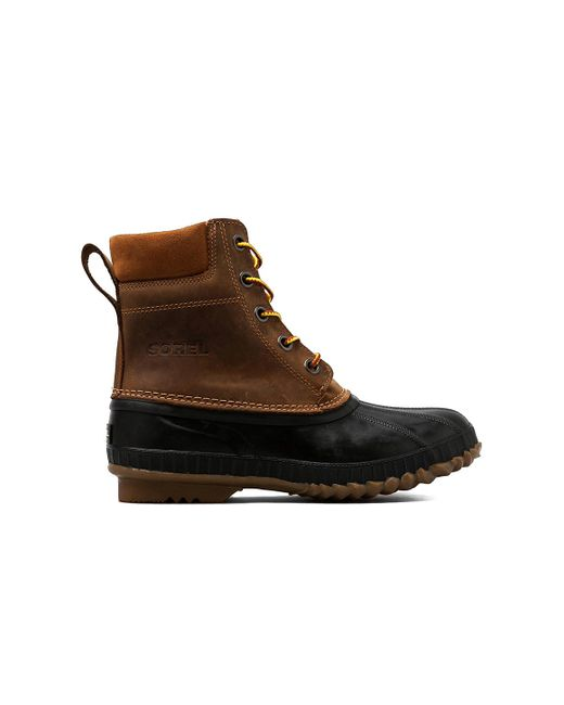 Sorel | Brown Cheyanne Full Grain Boots for Men | Lyst