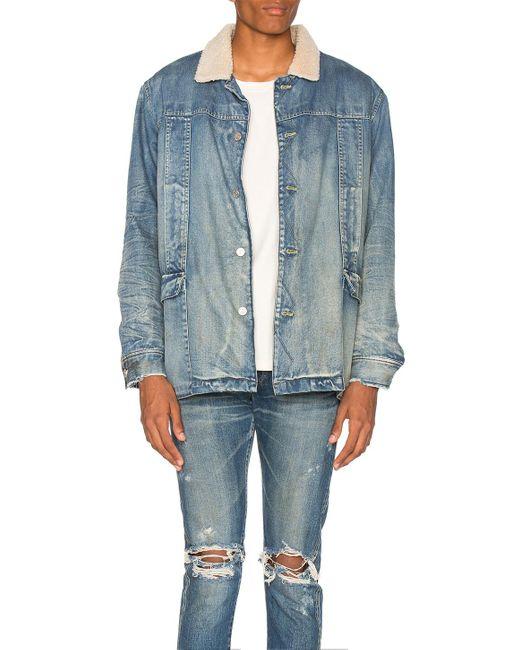 Stampd   Blue Denim Jacket for Men   Lyst