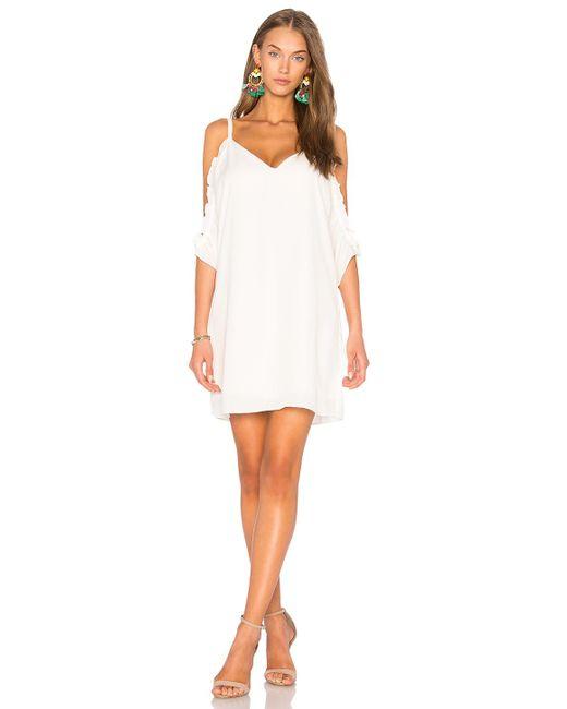 Three Eighty Two | White Gigi Dress | Lyst