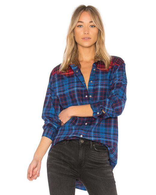 Tommy Hilfiger | Blue Tommy X Gigi Flannel Shirt | Lyst