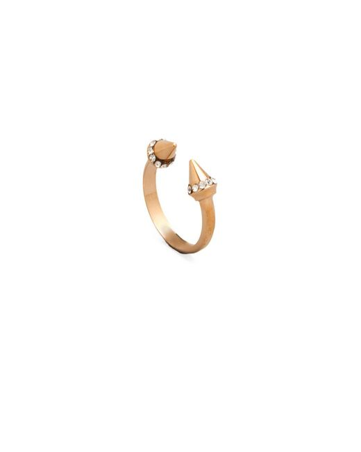 Vita Fede | Metallic Ultra Mini Titan Crystal Ring | Lyst