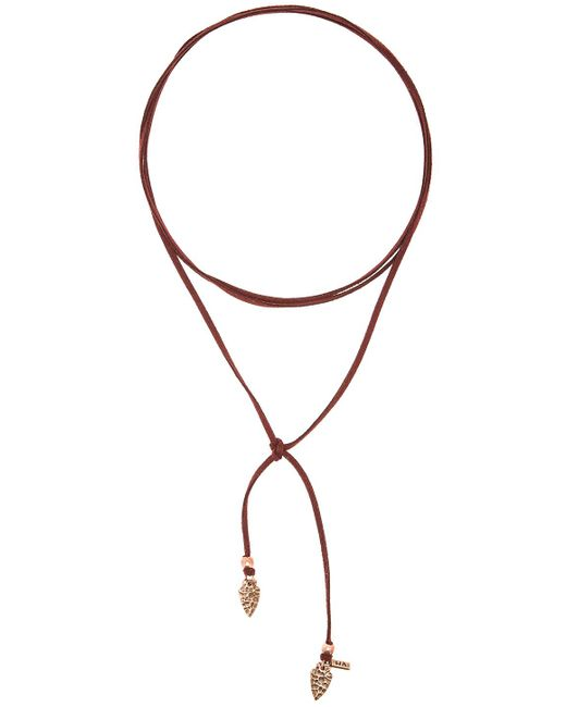 Vanessa Mooney | Purple Arrowhead Wrap Choker | Lyst