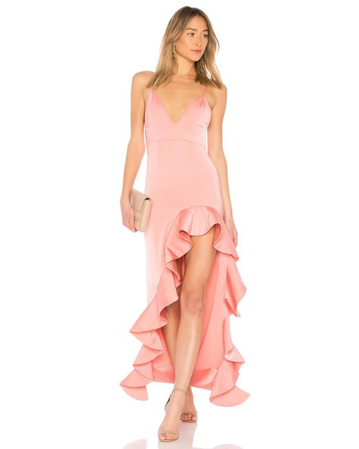 Lyst - Lovers + Friends Ahamani Gown in Pink