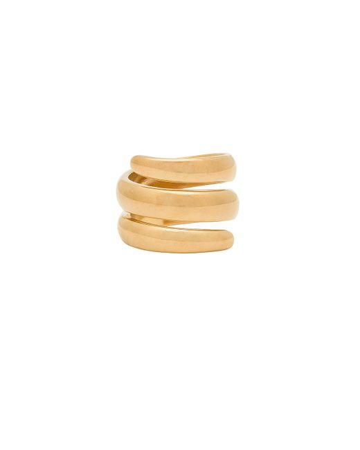 Five And Two - Metallic Jess Wrap Around Ring - Lyst