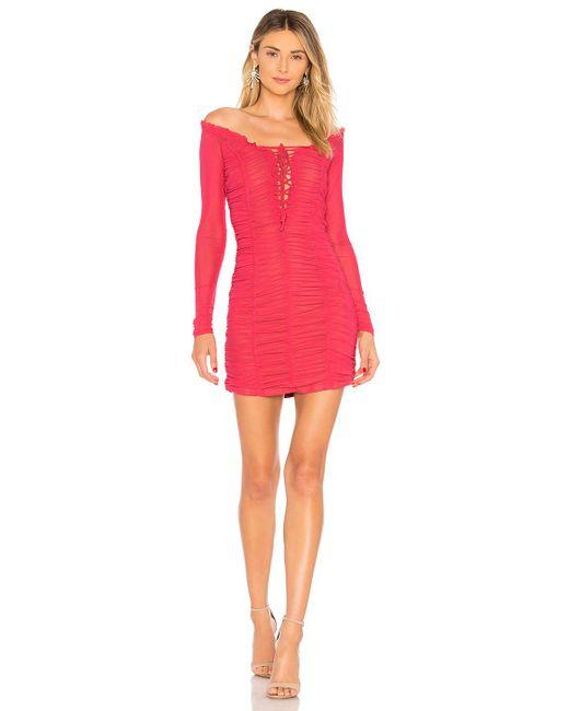 MAJORELLE - Pink Darling Dress - Lyst