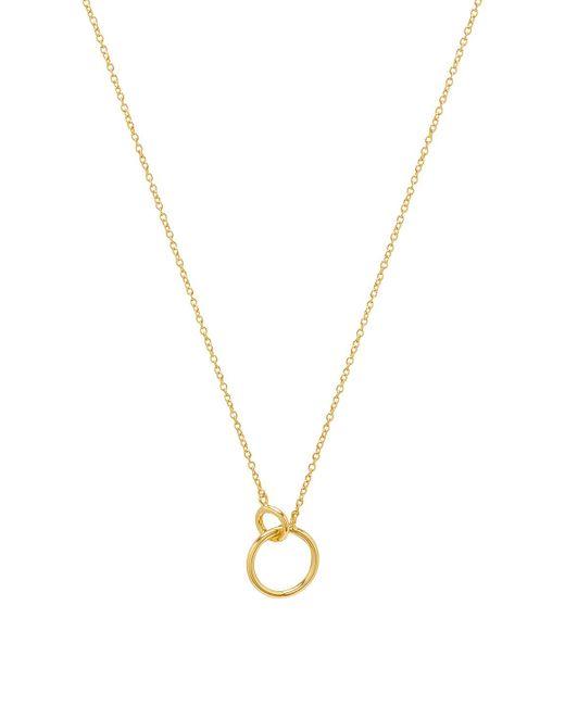 Gorjana - Wilshire Charm Necklace In Metallic Gold. - Lyst