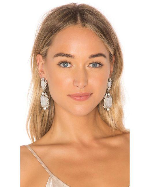 Elizabeth Cole | Metallic Piper Earrings | Lyst