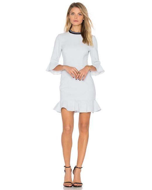 Rebecca Vallance | White Billie Flare Mini Dress | Lyst