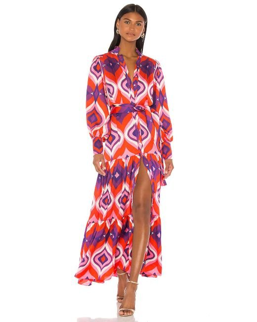 Alexis Red Dominica Dress