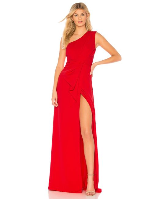 Jay Godfrey - Red Butler Gown - Lyst