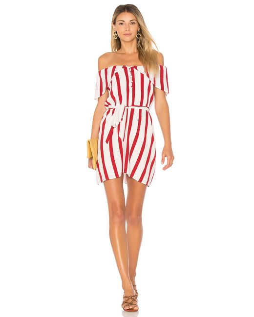 House of Harlow 1960 - Red X Revolve Lark Dress - Lyst