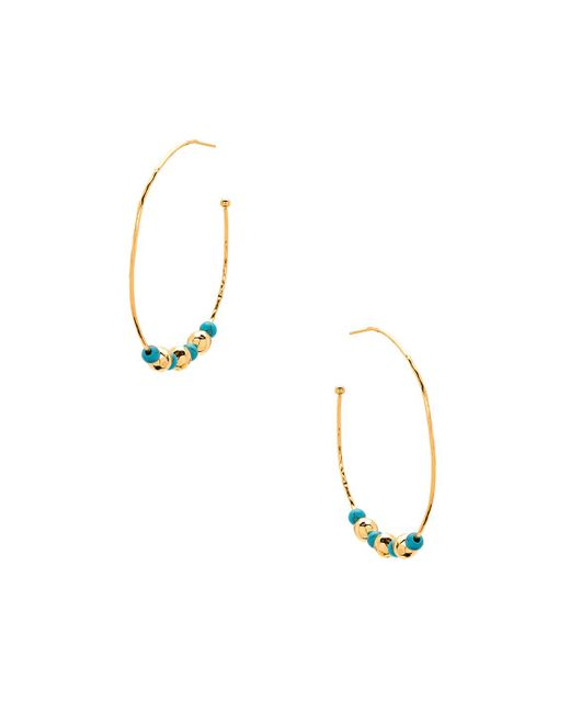 Gorjana - Gypset Hoops In Metallic Gold. - Lyst