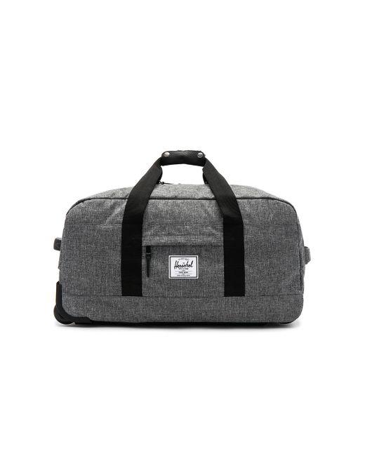 Herschel Supply Co. | Black Wheelie Outfitter Suitcase | Lyst