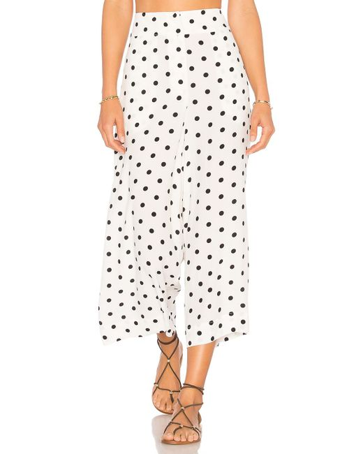 House of Harlow 1960 - Multicolor X Revolve Gwen Culotte In White - Lyst