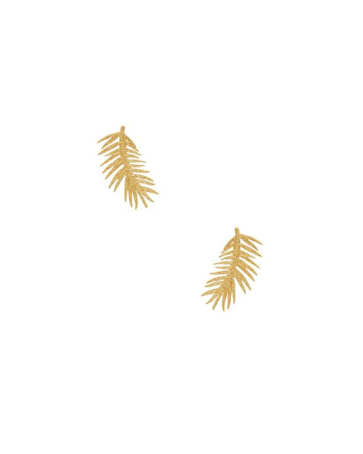 Gorjana - Metallic Palm Ear Climbers - Lyst