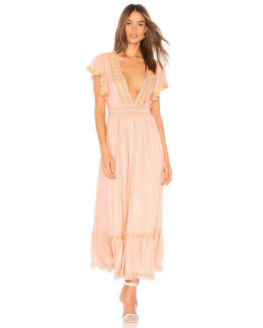 Cleobella - Pink Camelia Dress - Lyst