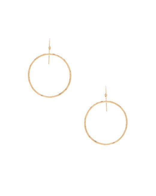 Mimi & Lu - Metallic Jackson Earrings - Lyst