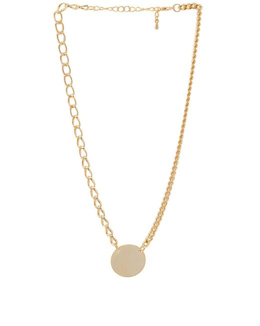 8 Other Reasons - Deja Necklace In Metallic Gold. - Lyst