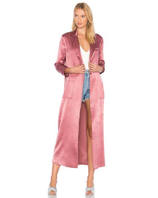 House of Harlow 1960 | Pink X Revolve Cheryl Maxi Coat | Lyst
