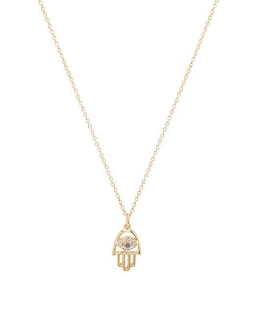 Vanessa Mooney - Christie Necklace In Metallic Gold. - Lyst