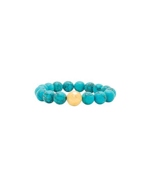 Gorjana - Blue Power Gemstone Statement Bracelet In Turquoise. - Lyst