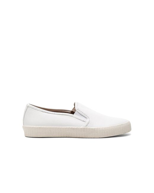 Frye | White Camille Slip On | Lyst