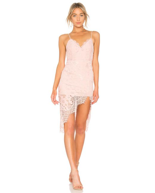 X By NBD - Pink Nova Dress In Blush - Lyst