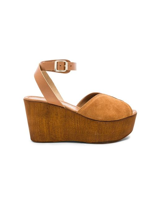 Seychelles - Brown Laugh More Wedge In Tan - Lyst