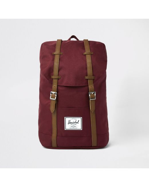 995d7a73ab71 Herschel Supply Co. - Red Retreat Backpack for Men - Lyst ...