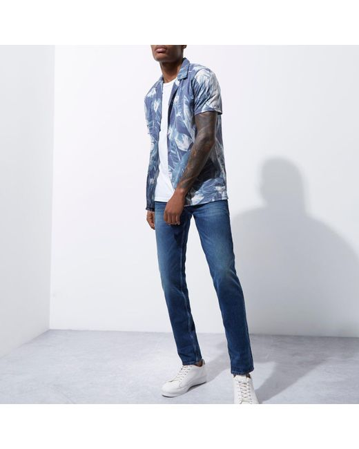 blue island men Don't search for the best fall sales we've got the best prices for river island mens light blue super skinny ripped jeans and other amazing men's slim fit & skinny jeans deals.
