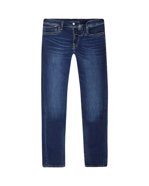 River Island - Pepe Jeans Blue Slim Fit Jeans for Men - Lyst