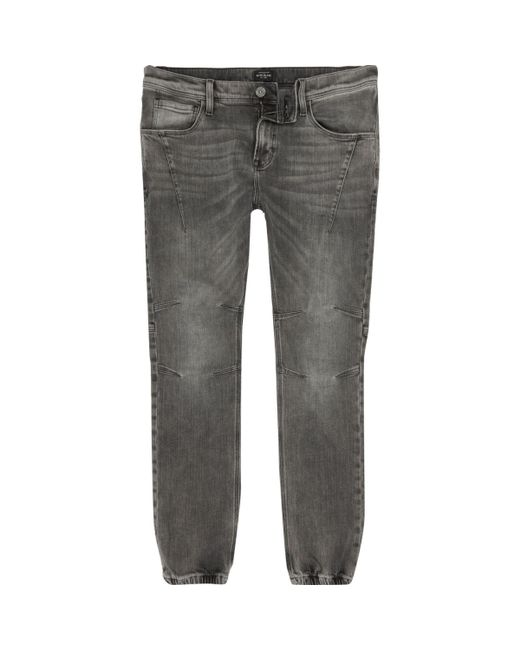 River Island | Gray Grey Wash Ryan Jogger Jeans for Men | Lyst