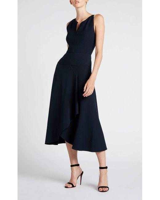 49f205dfd4 Roland Mouret Jackson Dress in Blue - Save 50% - Lyst