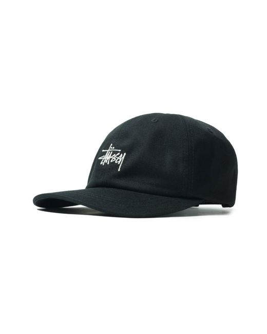 88e1d8a1a7f Lyst - Stussy Sp19 Stock Low Pro Cap Black in Black for Men