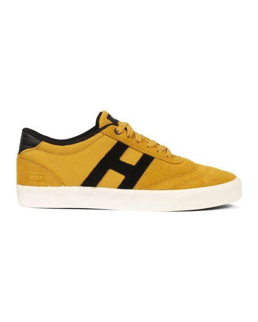 Huf - Yellow Galaxy Sneaker for Men - Lyst