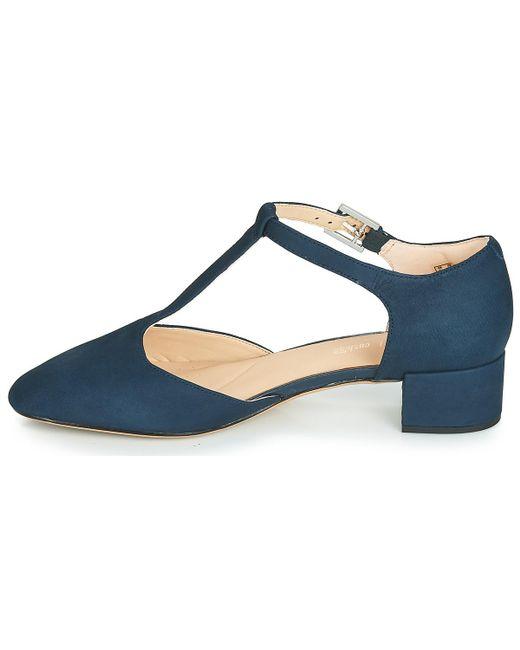 e9d9cbd559a ... Clarks - Blue Orabella Holly Heels - Lyst ...
