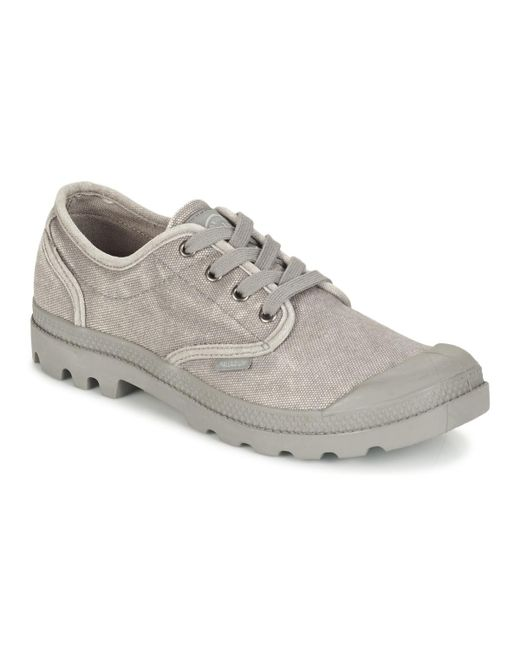Palladium - Gray Us Oxford Shoes (trainers) for Men - Lyst