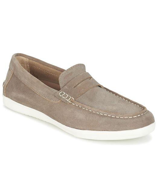 Geox - Brown U Walee C Slip-ons (shoes) for Men - Lyst