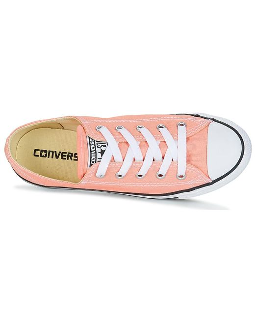 00e15f48af2dd7 ... Converse - Chuck Taylor All Star Dainty Ox Canvas Color Women s Shoes ( trainers) In ...