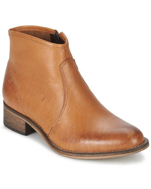 Betty London | Brown Nidia Mid Boots | Lyst