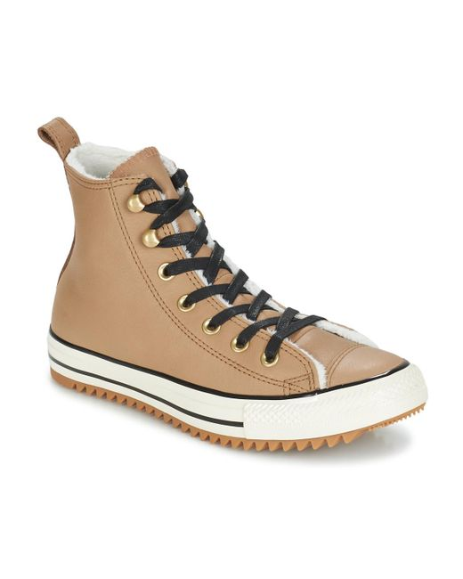 Converse - Natural Chuck Taylor All Star Hiker Boot Leather Hi Women s  Shoes (high- ... 7ea7257dc25