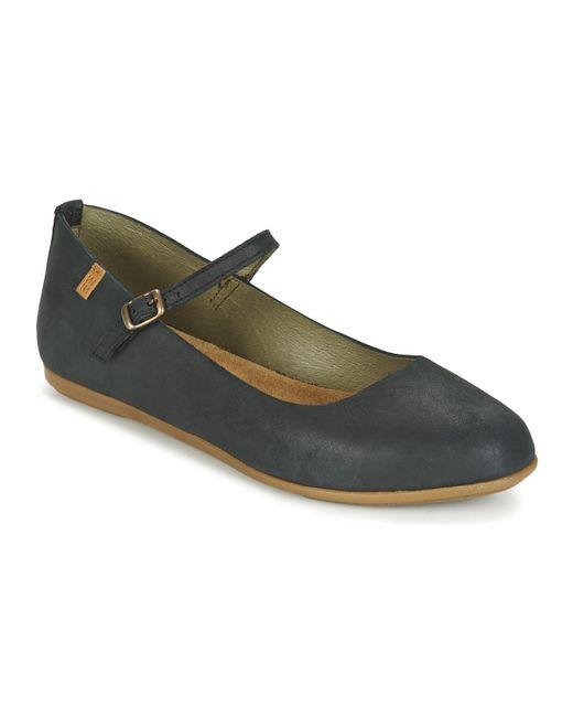 El Naturalista | Black Stella Shoes (pumps / Ballerinas) | Lyst