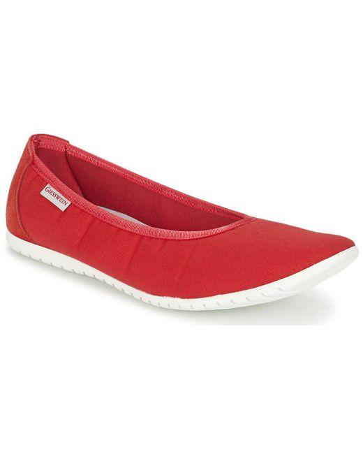 Giesswein - Red Drees Flip Flops - Lyst