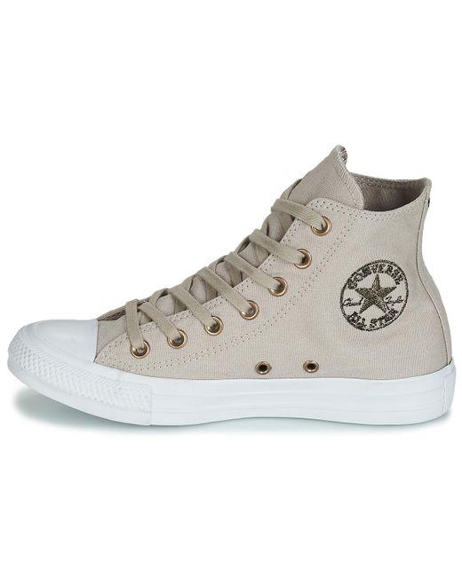 Converse Chuck Taylor All Star Hearts Canvas Hi Shoes (high