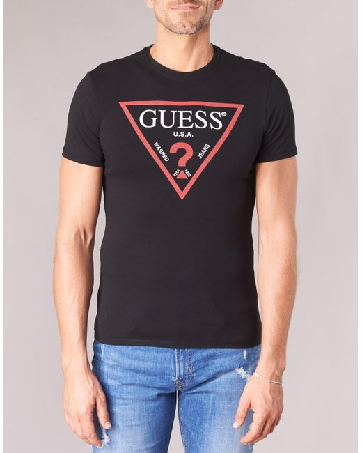 Club 75 for GUESS Jeans SS Shirt Black
