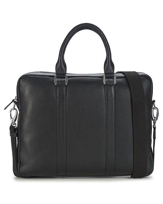 Le Tanneur | Black Bruno Briefcase for Men | Lyst