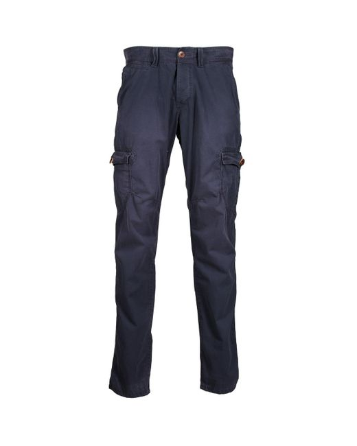Esprit - Blue Vintage Cargo Trousers for Men - Lyst