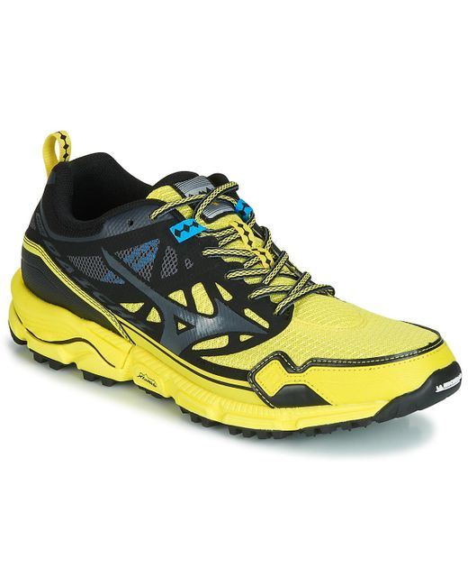 Mizuno - Black Wave Daichi 5 Running Trainers for Men - Lyst ... 556a6cac978d