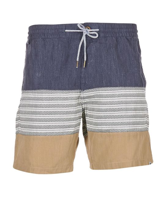 Volcom - Blue Threezy Jammer Shorts for Men - Lyst