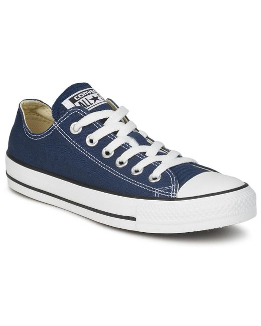 Converse - Blue All Star Core Ox Shoes (trainers) - Lyst